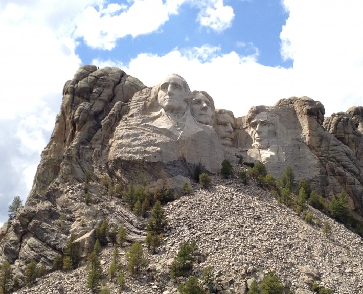 Beautiful picture of Mount Rushmore
