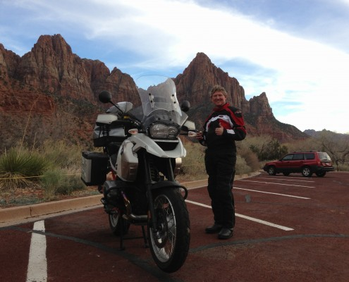 Dwayne in Zion National Park
