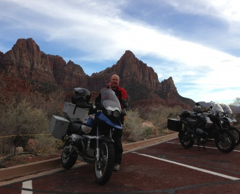 Ray Nelson in Zion National Park