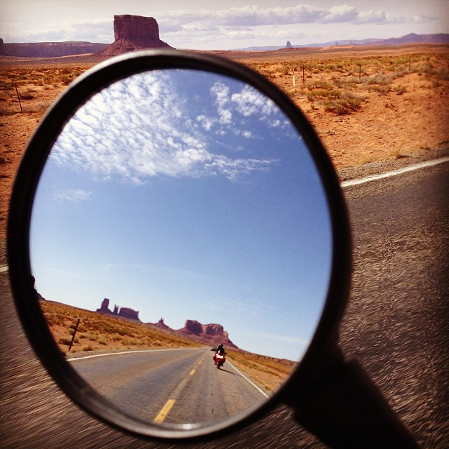 Motorcycle Touring in Monument Valley