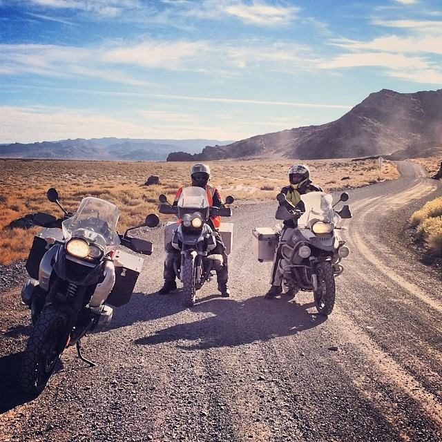 BMW GS Motorcycles in the Element