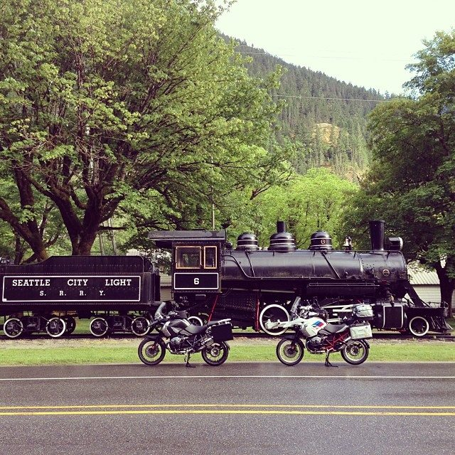 Motorcycle Touring near North Cascades National Park
