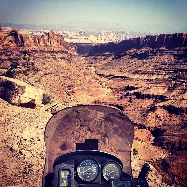 Adventure Motorcycle Touring in Moab
