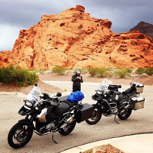 Valley of Fire Motorcycle Touring