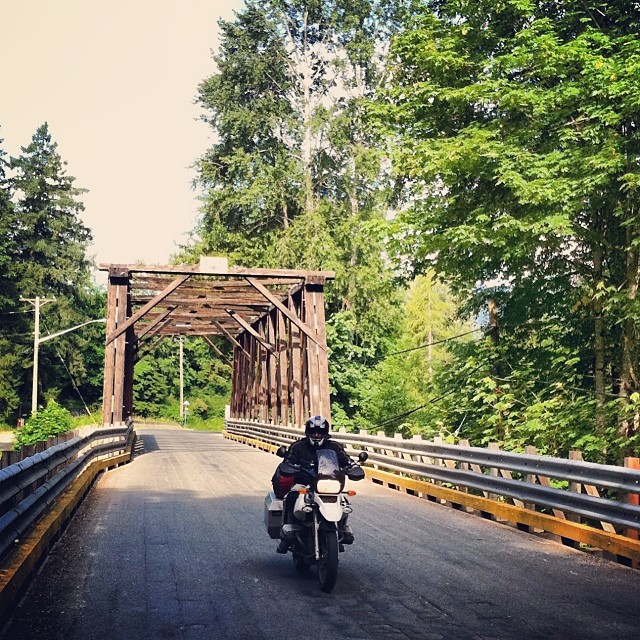 Motorcycle Touring on Vancouver Island