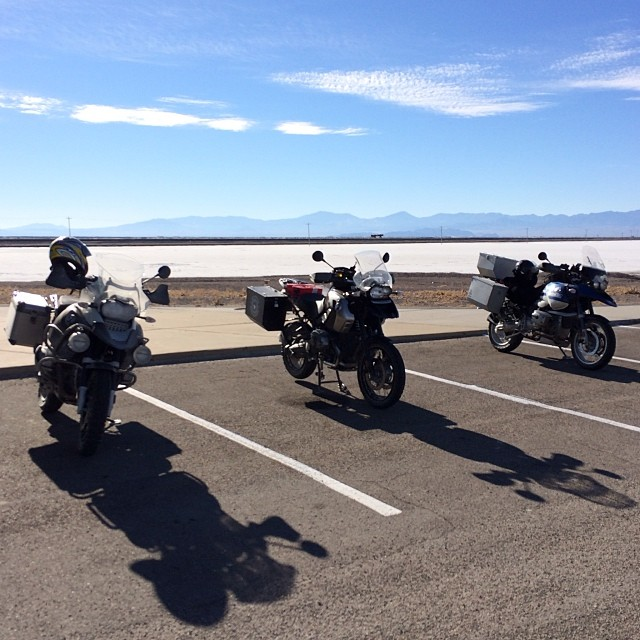 Riding - Bonneville Salt Flats