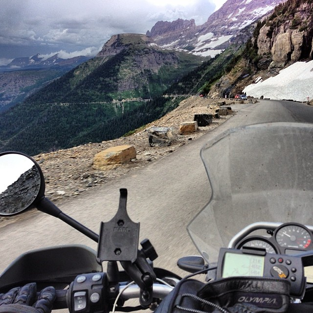 Glacier National Park - Motorcycle Touring