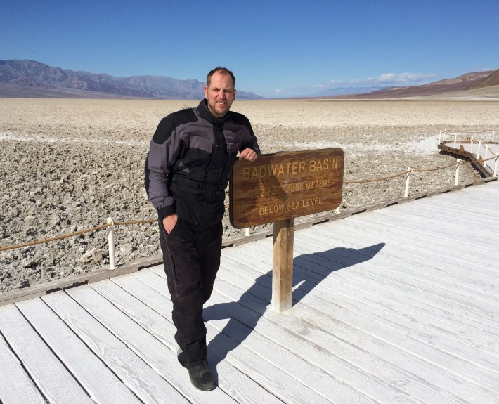 Scott G. Nelson at Badwater Basin Death Valley