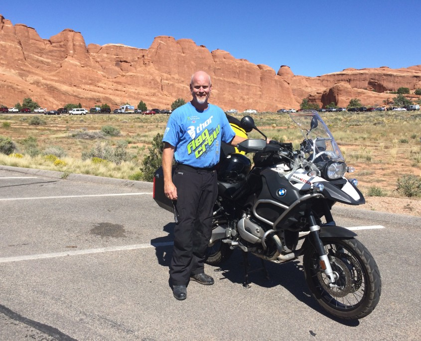 Mark Touring Arches National Park