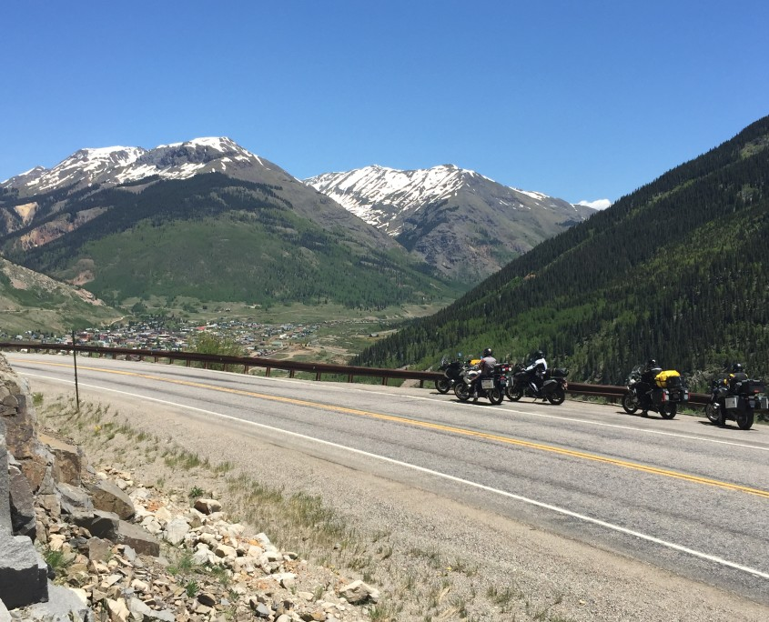 Motorcycling Touring in Silverton, Colorado
