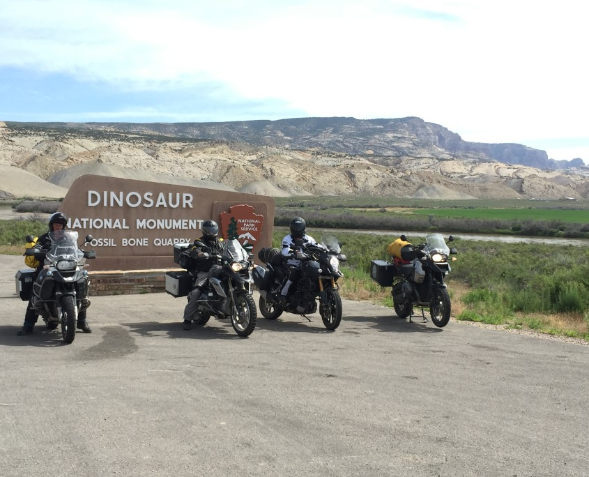 Motorcycle Touring Dinosaur National Park