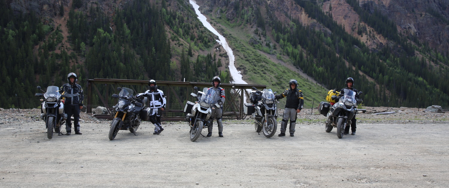 Motorcycle Touring in Silverton, Colorado